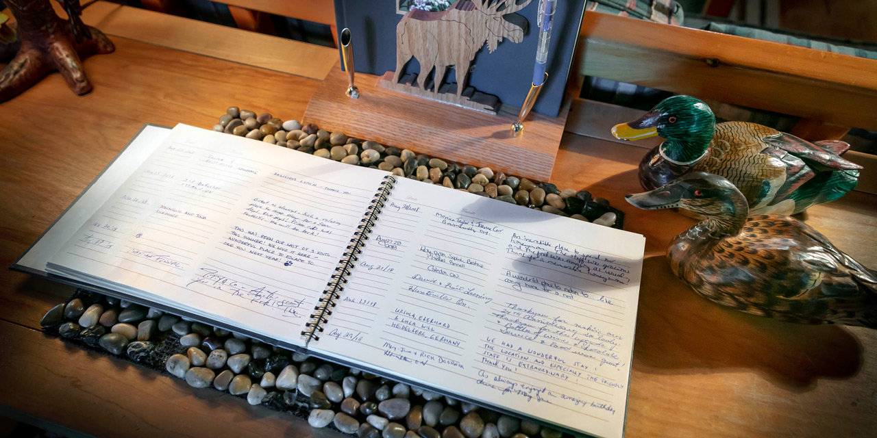 guest book reviews for killarney lodge ontario