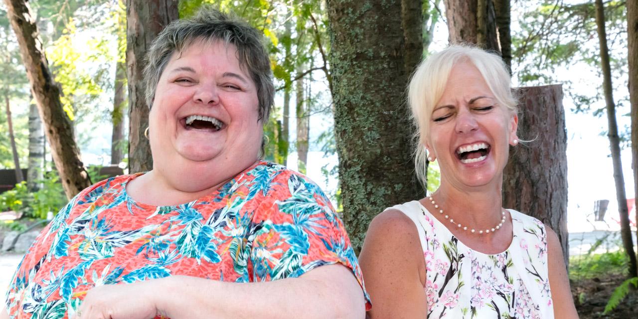 fun laughter good humour staff at Killarney lodge