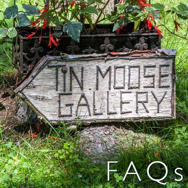 Tin moose gallery