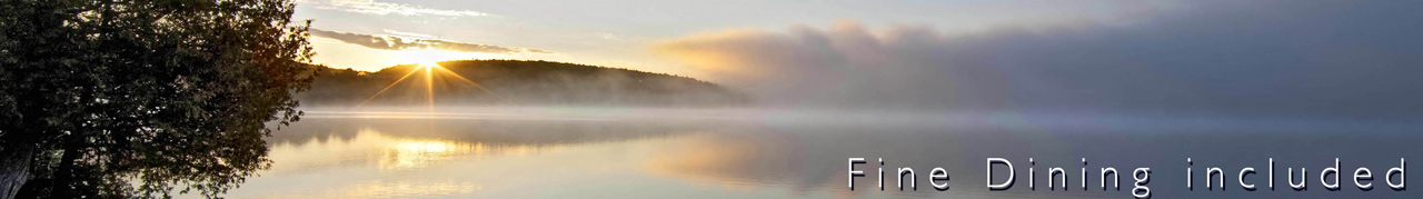 dawn lake of two rivers algonquin
