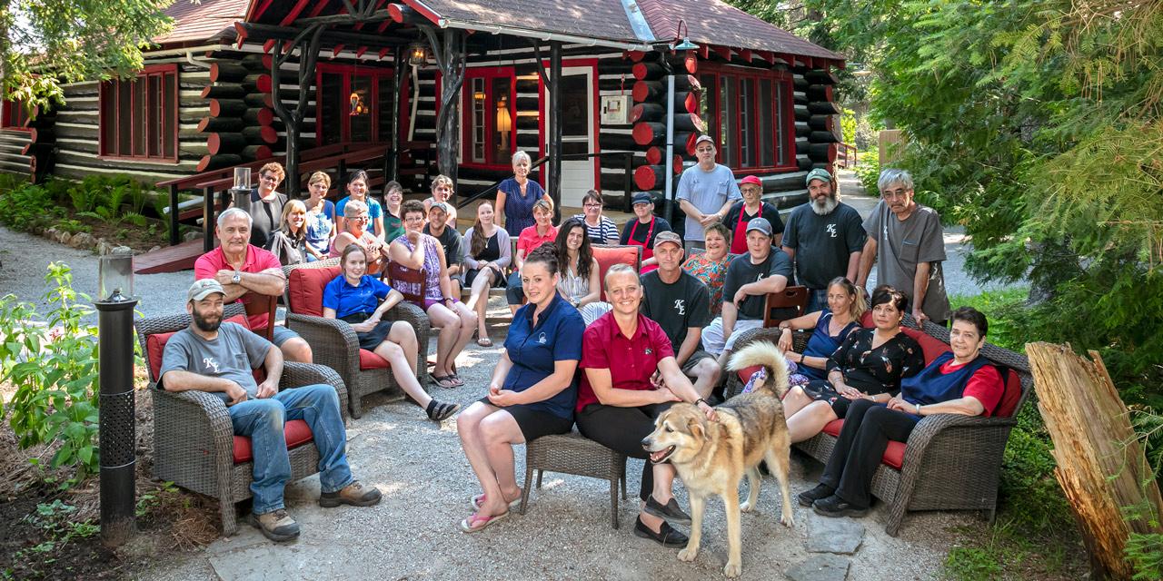 owners staff killarney lodge algonquin park